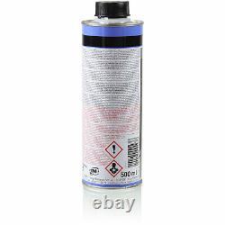 3xMANN-FILTER Ölfilter-h 813/1 X+ 3xLiqui Moly / 3x Cera Tec