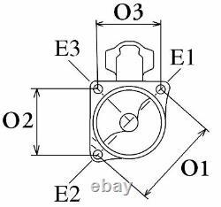 Anlasser Starter Massey Ferguson 1873a054 26298d 63227565 9004475061 Neu