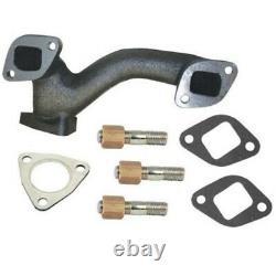 Exhaust Manifold Kit for Massey-Ferguson Tractor 135 150 230 235+ Perkins A3.152