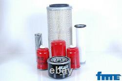 Filter Set For Massey Ferguson Mf 6150 Motor Perkins 1004.4THR Filter