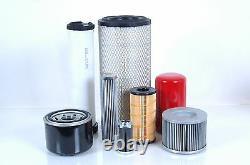 Filterset für Massey Ferguson MF 6460 Motor Perkins 1104C-E44TA Filter