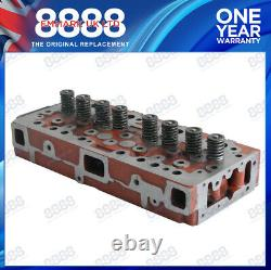 Fits Massey Ferguson 65 Tractor Cylinder Head Assembly Perkins A4.203 Indirect