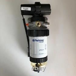 Genuine OEM Perkins MP10325 Pre Fuel Filter with Pump for 800 Series Engine