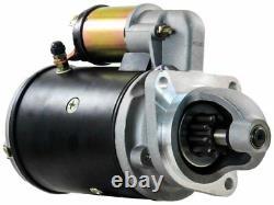 Lucas Starter MOTOR 2.8kW 12V 10T 39.5mm CW FOR Massey Ferguson Perkins Left