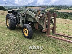 Massey Ferguson 2WD Tractor 86HP with Front Loader And Perkins Engine. Mod Spec