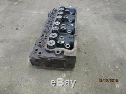 Massey Ferguson 3060 / 390 Engine Cylinder Head Perkins 4-248 in Good Condition