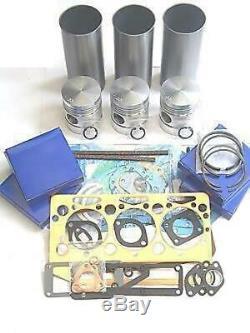 Massey Ferguson 35 35x Tractor Chrome Liner Engine Rebuild Kit (cd Build)