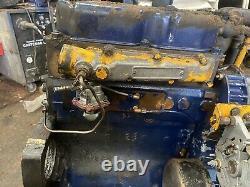 Massey Ferguson Perkins A3.152 Complete Engine 135 240 35x 3cyl Excellent Runner
