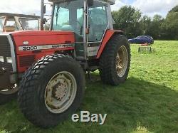 Massey Ferguson Tractor 4 WD 3080 Perkins engine £9500