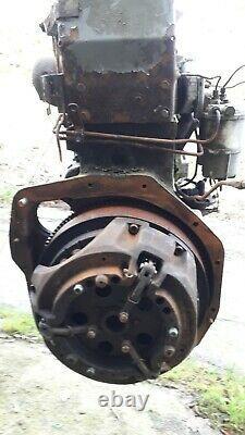 Massey ferguson Perkins A4.318 Tractor Engine 2mins j29 m6 leyland lancs