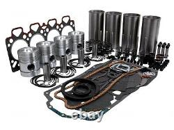 Motor Überholung Kit Passt Massey Ferguson 365 372 Traktore Mit Perkins A4.236