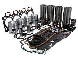 Motore Revisione Kit Per Massey Ferguson 390 3060 Trattori Con Perkins A4.248