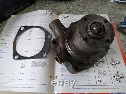 New Cast Iron Water Pump Massey Ferguson Mf65 Mf165 / M& Perkins 4.192 / 4.203
