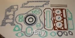 New Perkins AD3.152 Massey Ferguson 240 / 135 Overhaul Kit(ROPE Rear Seal)