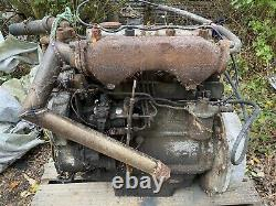 Perkins 203e Four Cylinder Diesel Engine Tractor Landrover Tractor