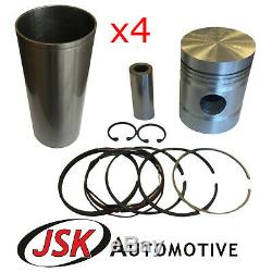 Pistons Liners Pins Rings for Perkins P4 A4.192 Massey Ferguson 65 Nuffield DM-4