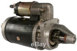 Starter Motor Lucas LRS124 M45G Perkins Massey Ferguson 3085, 3635, 685 Matbro