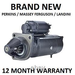 Starter Motor Massey Ferguson / Perkins 4.2kw Ms294 Azf4147 Is1159 3597372m2