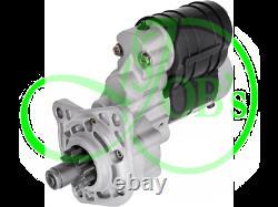 Starter with reduction gear 12V 2,8kW MASSEY FERGUSON, MCCORMICK, PERKINS 12370