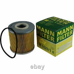 3xmann Ölfilter-h 1029/1 N + 3xliqui Moly Pro-line Lavado De Motor / 3x Cera Tec