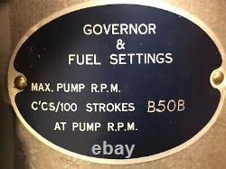 Cav 4cyl Fuel Inj Exchange Pump 3242135 Perkins P4.192y Massey Ferguson Mf65