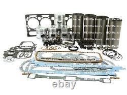 Kit De Révision Du Moteur Pour Massey Ferguson 165 Perkins A4.212 Avec Kit De Train Valve