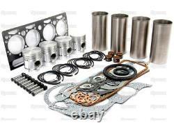 Kit De Révision Pour Perkins 4.203 Moteur Massey-ferguson Mf 65 Tracteur & Chargeur 356
