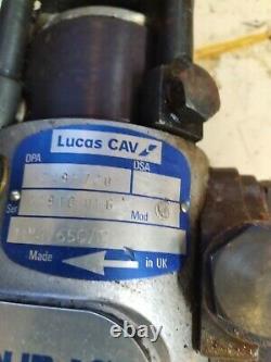 Lucas Cav Lf51/650/2 Pompe À Injecteur De Carburant Pour Le Moteur De Perkins 4.203