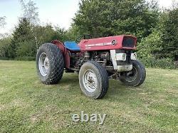 Massey Ferguson 135 Tracteur Mf Perkins Diesel 3 Cylindres