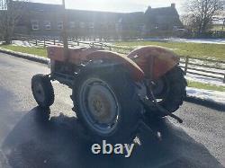 Massey Ferguson 135 Tracteur Swept Axle Perkins 3 Cylindres Unrestored Original