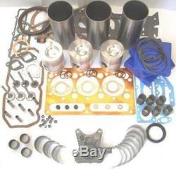 Massey Ferguson 20b / E / F 40 135 140 30 145 230 240 245 Moteur Complet Kit (ce Construction)