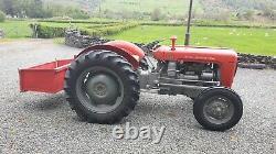 Massey Ferguson 35 Tracteur, 1960, Perkins 3 Cylindre Diesel, V5c, Restauré