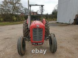 Massey Ferguson 35 Tracteur & Perkins 270 Moteur