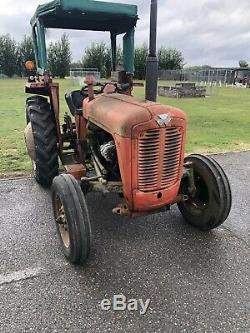 Massey Ferguson 35 X Classic Tracteur 3 Perkins Cylindre Moteur