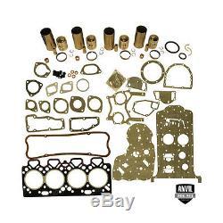 Massey Ferguson Basic Engine Overhaul Kit Perkins 4.236 Mf175 180