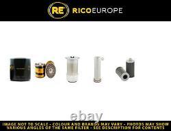 Massey Ferguson Mf 384 (s) Filter Service Kit Withperkins Eng