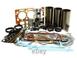 Motore Revisione Kit Per Massey Ferguson 35 35x Trattori Perkins A3.152 Motori