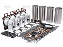 Perkins 4.212 Engine Rebuild Kit Massey-ferguson Mf Uk 165 50 50b Tracteur Ih 475