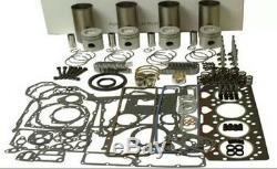 Perkins 4.236 Kit Moteur Refonte Jcb-tractopelle Massey Ferguson Rebuild Kit