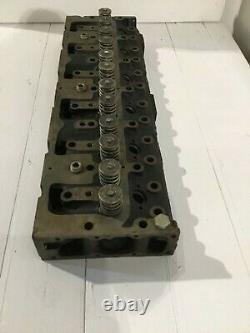 Perkins 6 Cylindres Tête Complète Nouvelle 3711603a Zz80066