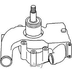 Pompe À Eau S'adapte Massey Ferguson 399 699 2675 Blanc 2-105 2-85 2-88 2-110 Perkins