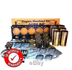 Refonte Du Moteur Kit Convient Massey Ferguson 399 Perkins 1006.6 Blue Engine