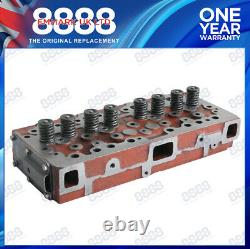 S'adapte Massey Ferguson 65 Tractor Cylinder Head Assembly Perkins A4.203 Indirect