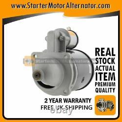 Starter Motor Fits Jcb, Massey Ferguson, Perkins, Yale