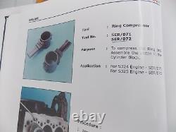 Tracteurs Piston Ring Compresseur Ser 071 Pour S324 Simpson Perkins Engine
