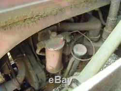 Vintage Tracteur Massey Ferguson Te-20 P3 Perkins Diesel Engine Barn Trouver